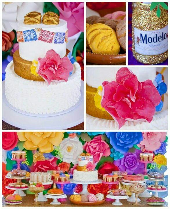 28 best images about tem ticas on pinterest candy bars - Fiesta baby shower ...
