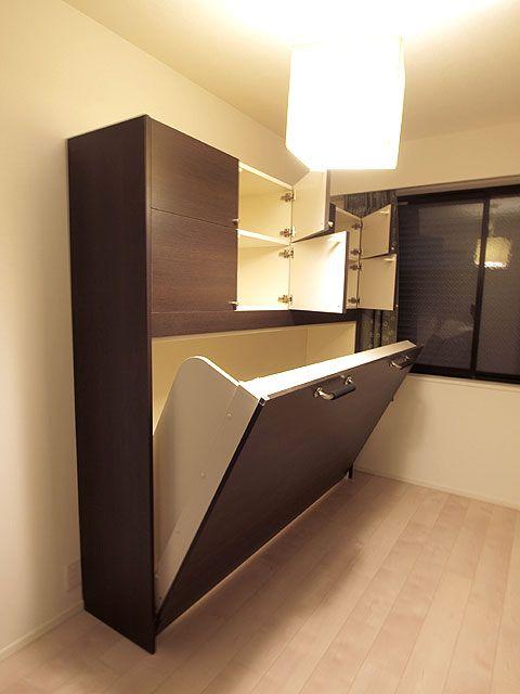 壁収納ベッド(標準品~特注)横型 格納ベッド、格安オーダー|renofurniture(リノファニチャー)|壁面収納