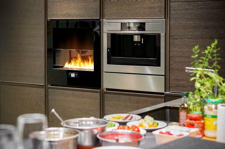 Chili Fire, Planika, Good Mood Studio  #chilifire #fireplace #goodmood #design #kitchen