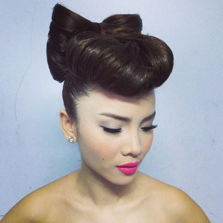 Yen Trang make up by me, hair by Gill Nguyen.