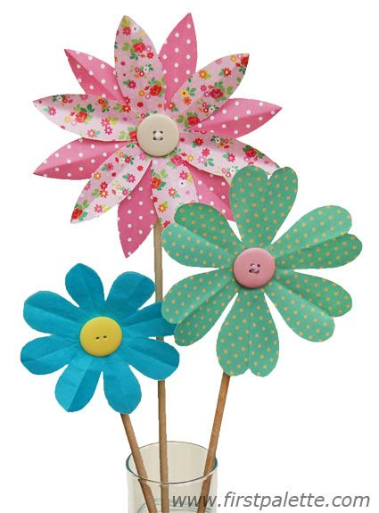 craft flowers - Google Search