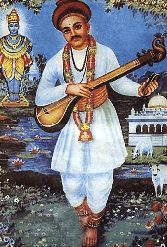 #Sant #Namdev's style was to compose simply-worded praise for Vithoba and to use a melodic device, called #Samkirtana, both of which were accessible to common people.