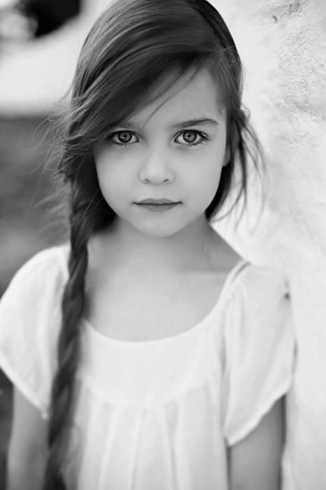 Life is BeautifulLittle One, Precious Children, Little Girls Hair, Long Hair, Kids, Big Eye, Side Braids, Nature Beautiful, Young Girls