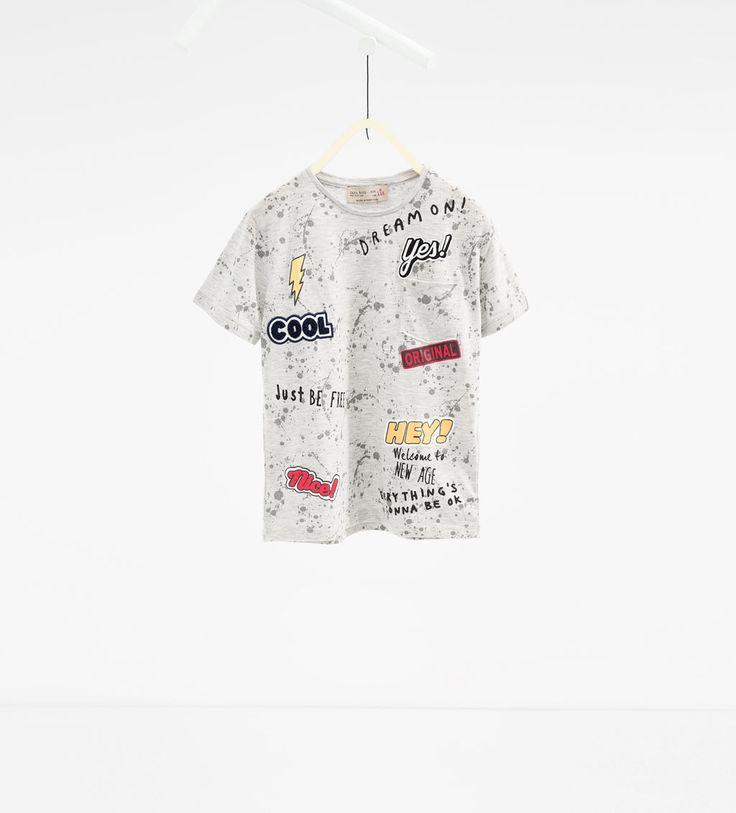 Camiseta parches - Disponible en más colores