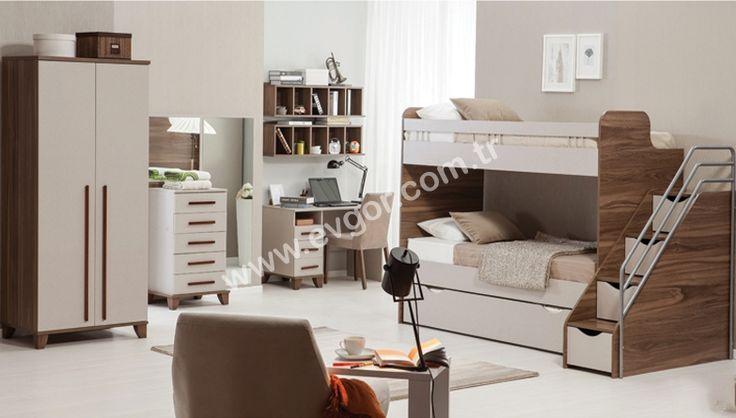 Flo Ranzalı Genç Odası  https://www.evgor.com.tr/flo-ranzali-genc-odasi-modelleri