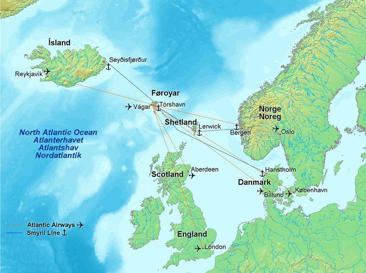 Best Faroe Islands Map Ideas On Pinterest Faroe Islands - Aland islands world map