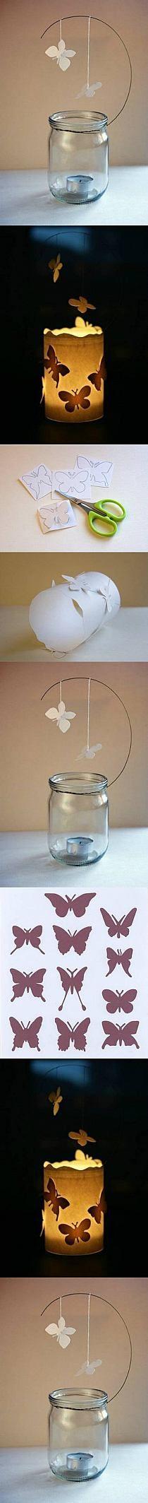 DIY Paper Butterfly Mobile DIY Projects   UsefulDIY.com