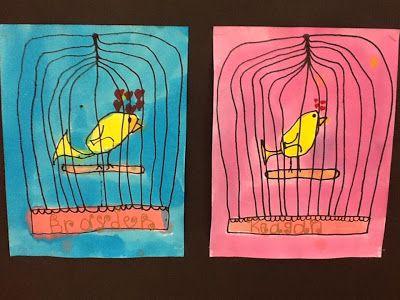First Grade Critter Cafe': LOVE BIRDS