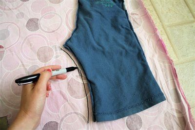 how to make a pattern from store bought clothes