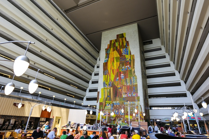 10 best images about disney 39 s contemporary resort on for Best contemporary hotels
