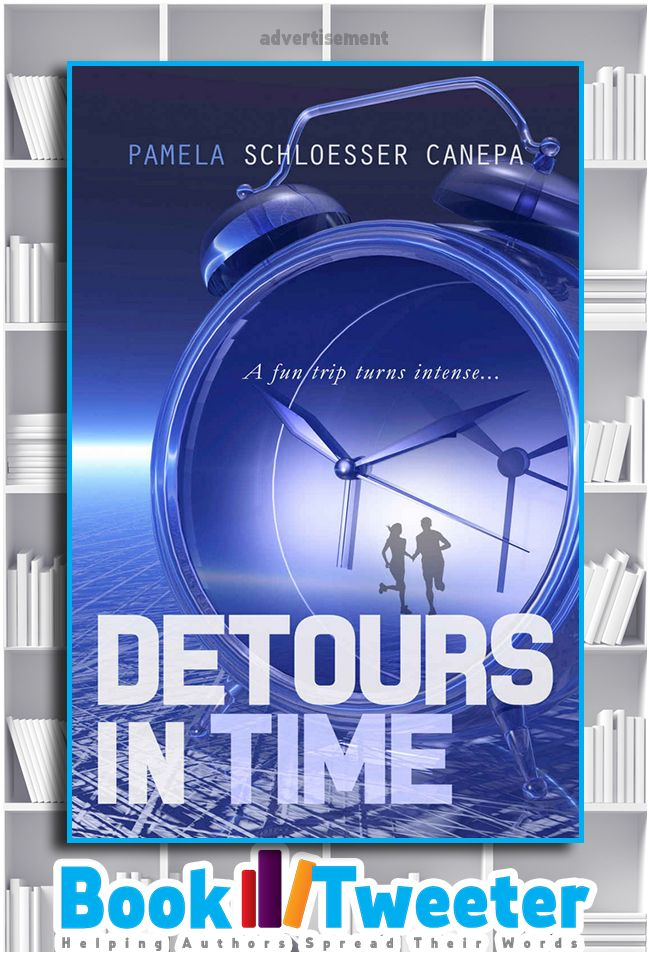 """Detours in Time"" by Pamela Schloesser Canepa is in the BookTweeter bookstore. #bktwtr"