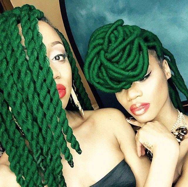 I'm Green With Envy.... - http://community.blackhairinformation.com/hairstyle-gallery/locs-faux-locs/im-green-with-envy/