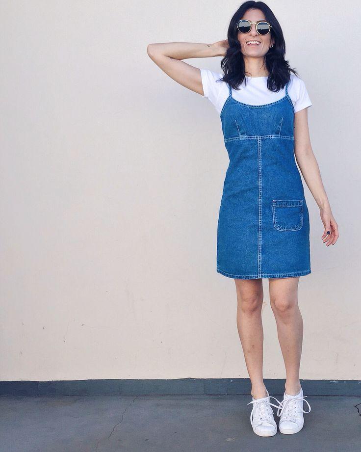 Sobreposição: Vestido e camiseta/ @aliciasampaio