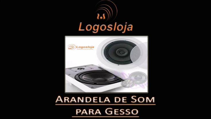 Arandela de Som para Gesso - Logos Loja