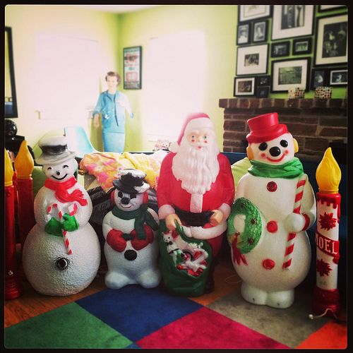 255 best blow mold Christmas images on Pinterest | Vintage ...