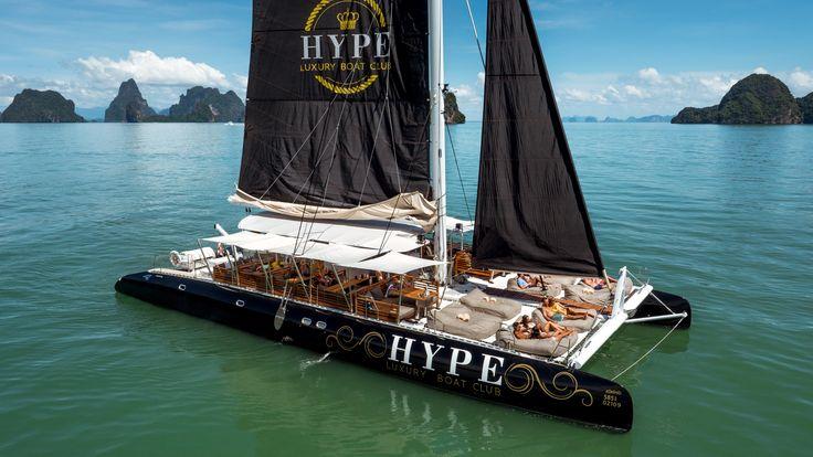 Katamaran segeln luxus  Die 34 besten Bilder zu Catamaran Hype Luxury Boat Club sailing ...