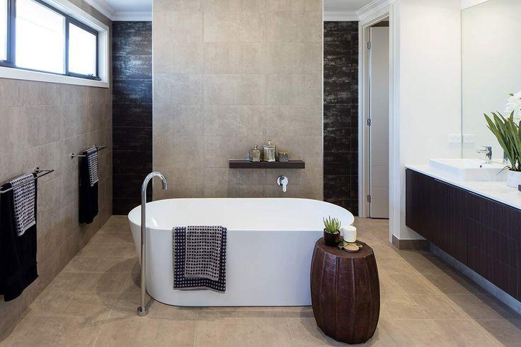 Enjoy the ultimate in luxury in this spacious bathroom. #weeksbuildinggroup #homedesign #interiordesign #newhome