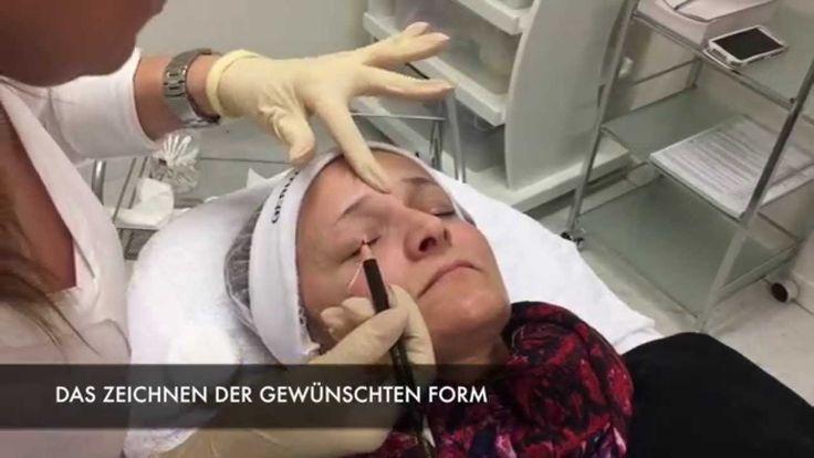 MICROBLADING Augenbrauen - Die Japanische Handmethode für feinste 3D Här...