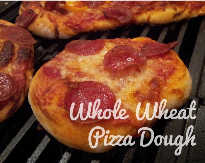 Delicious Whole Wheat Pizza Dough. Made from White Whole Wheat Flour ...