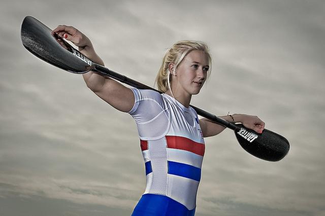 Rachel Cawthorn - kayak