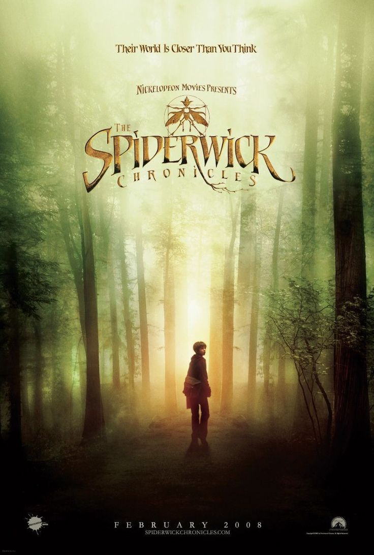 Spiderwick: Motion Pictures, Picture-Black Posters, Movie 2008, Families Movie, Spiderwick Movie Posters, Favorite Books, Favorite Movie, Chronicles Movie, Books And Movie