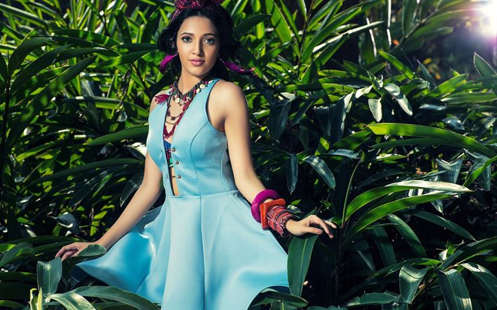 Download wallpapers Neha Shetty, Bollywood, indian actress, beauty, brunette, photoshoot