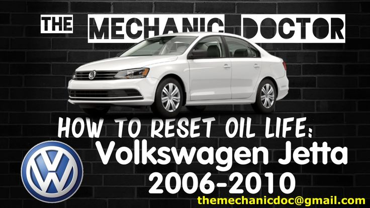 This video will show you step by step instructions on how to reset your oil life indicator on a Volkswagen Jetta 2006-2010.