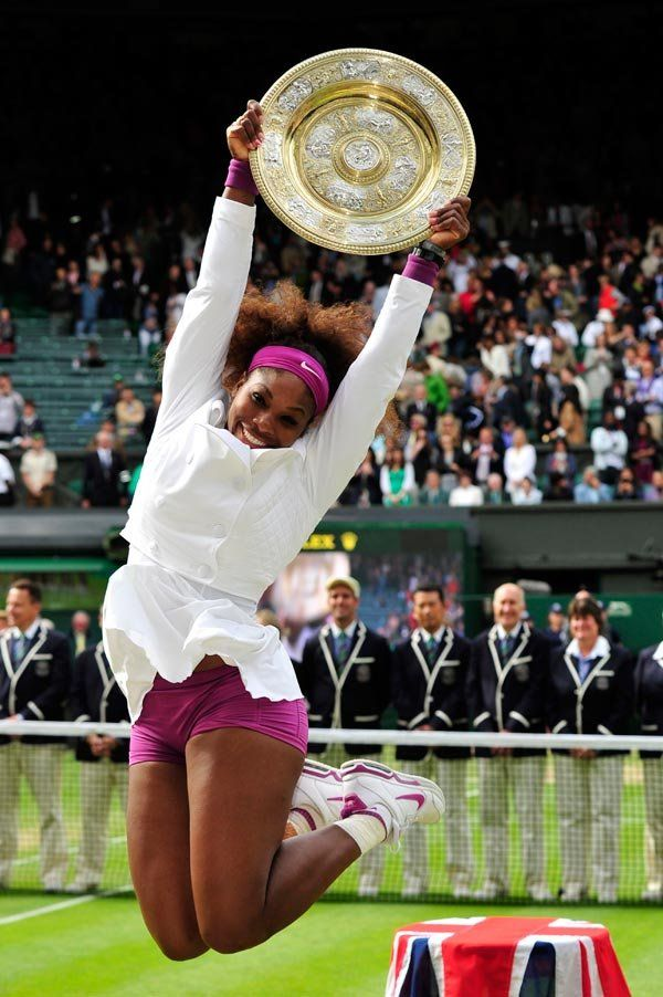 Serena Williams - Professional Tennis Player ranked World No. 1 in singles. Williams in the 2015 Wimbledon Champion.