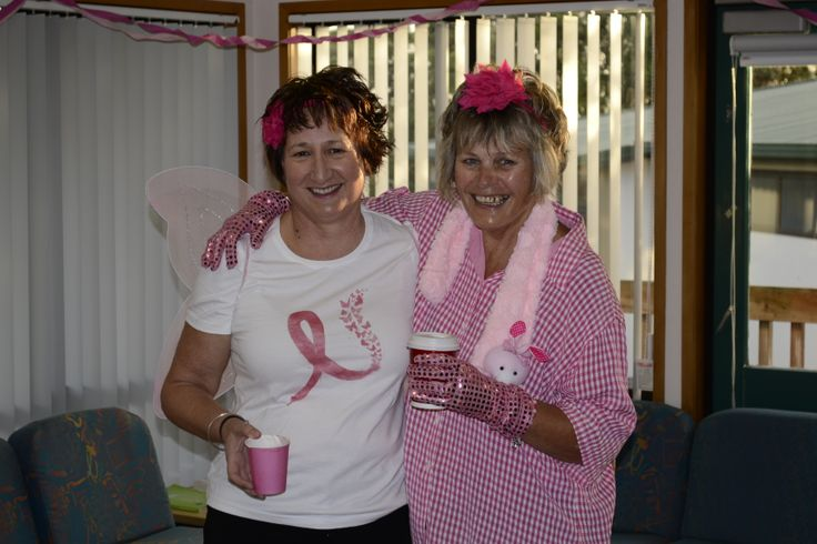 Pink reigned supreme at Helen's Breakfast!