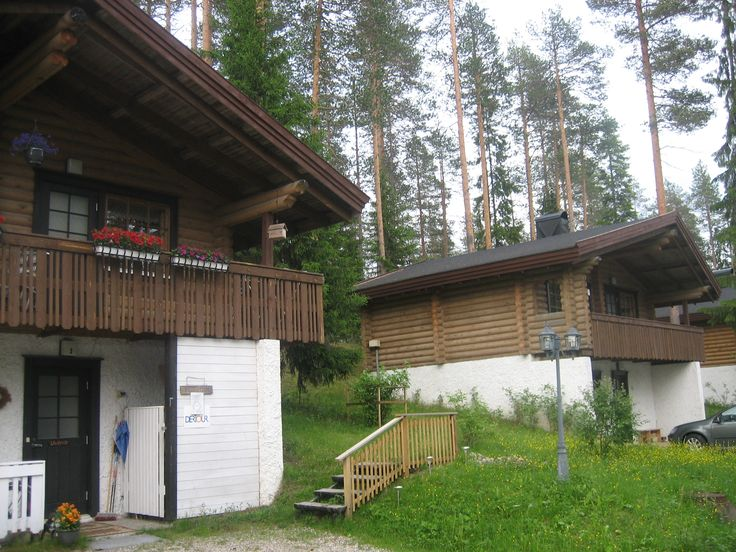 Kuuharju Cottages in Taivalvaara, Taivalkoski, Lapland, Finland http://www.visittaivalkoski.fi/en/cottages/cottages-kuuharju-enjoy-the-rustic-scenery