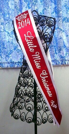 17 Best Images About Pageant Plus Sashes On Pinterest