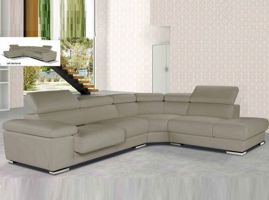 Nicoletti sectional sofa ef pacifico home decor for Canape nicoletti