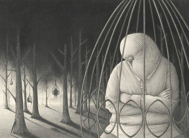 I buffi animali antropomorfi di David Álvarez - La collaborazione tra David Álvarez e Julia Diaz ha dato vita ad una serie di divertenti illustrazioni in bianco e nero http://www.bloggokin.it/2016/02/01/i-buffi-animali-antropomorfi-di-david-alvarez/