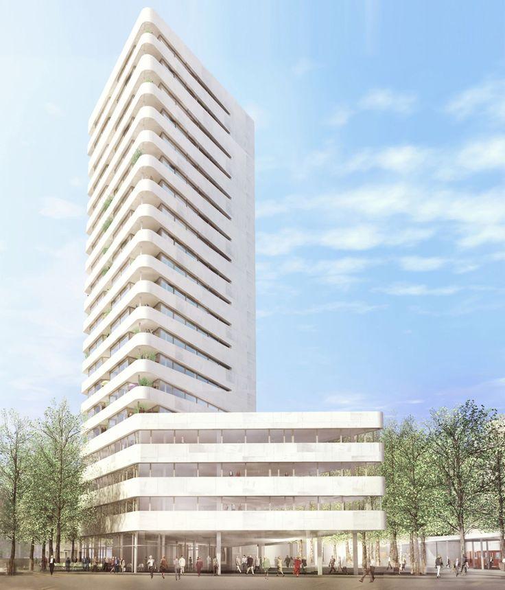 Christ & Gantenbein . Pratteln Apartment and Office Tower . Basel (4)