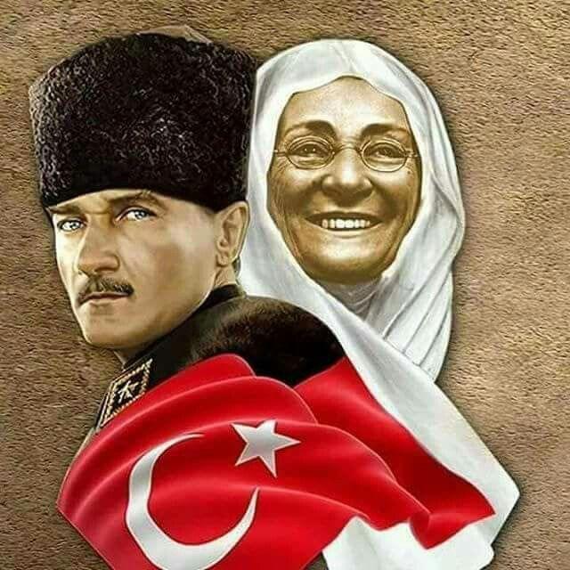 Kemal Paşa ve Annesi..