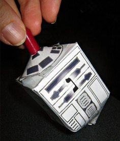 Star Wars Droidel: Instructions in this book http://pinterest.com/pin/606516738/  #Toys #Star_Wars_Droidel #Dreidel