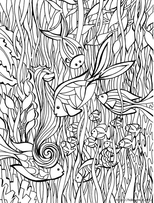Картинки для рисования для релаксации