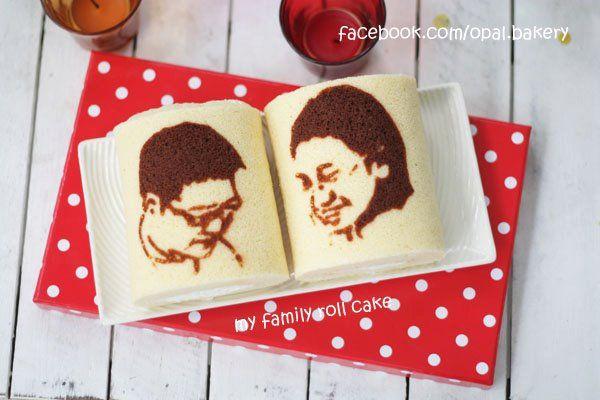 Bloggang.com : bake@home : my portrait roll cake