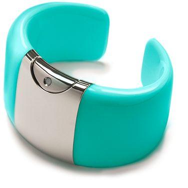 Armida Touch bracelet - fragrance dispenser Aquamarine    @armidatouch  http://www.armidatouch.com/create-bracelet