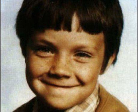 Robbie Williams as a kid.
