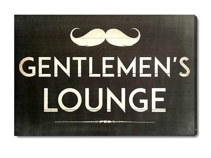 Gentleman's Lounge Wall Decor