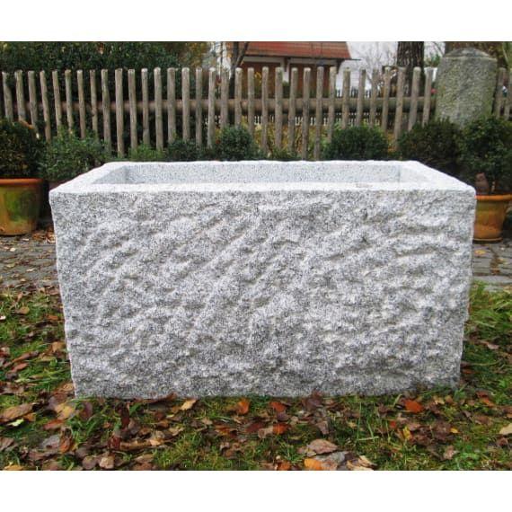 Granit Brunnen Rechteckig 90 X 50 X 50 Cm Hellgrau Brunnen Wassertroge Garten Hof Baustoffe Und Werkzeug Baywa Baustoff In 2020 Baustoffe Wassertrog Granit