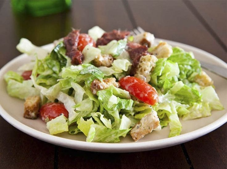 The correct «Caesar»: my favorite salad is now even easier!