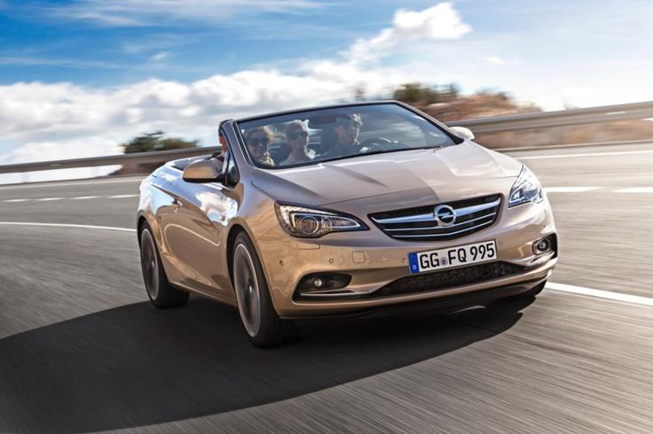 Opel regressa aos cabrio com o novo Cascada
