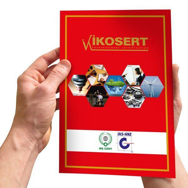 İkosert Katalog Tasarımı