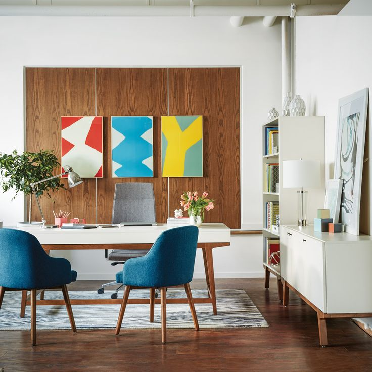 A Dozen Home Workspaces: 33 Best West Elm Workspace With Inscape Images On