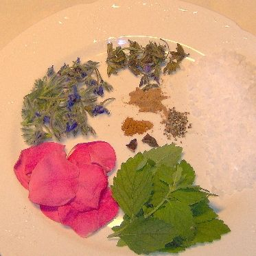Blüten-Gewürz-Salz  -Sommersonne-
