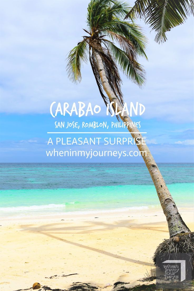 Carabao Island, San Jose, Romblon, Philippines - We don't know much about the place. I was walking along the White Beach in Boracay when I saw a photo of Carabao Island on one of the posters. I thought that it would be nice to check it out on our next island hopping tour. Although it was very momentary first meeting, the rawness of Carabao Island was surprisingly extraordinary.
