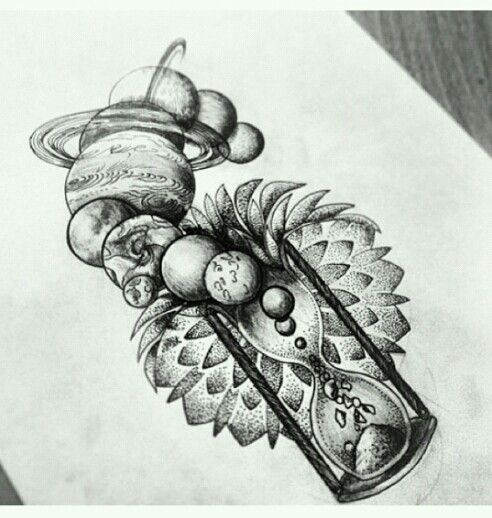 Abstract Space Tattoo Tattoos Tattoos Tattoo Designs Planet
