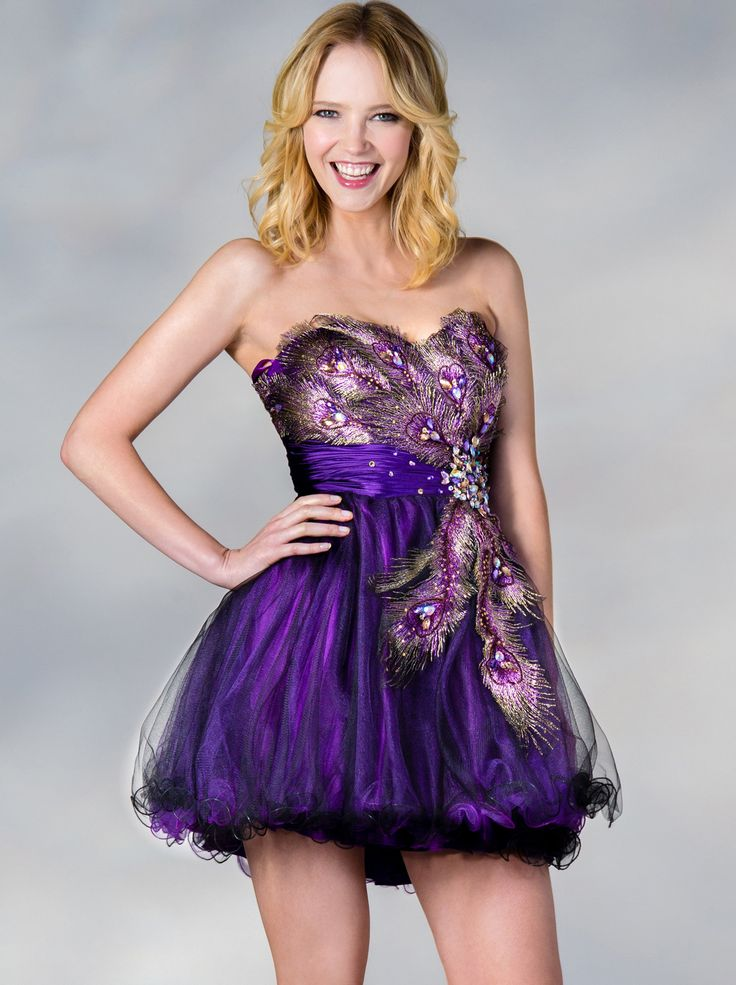 purple-cocktail-dresses-for-weddings-